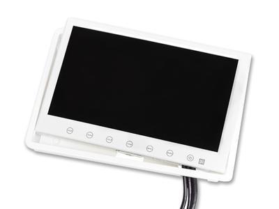 schermo 7 pollici bianco