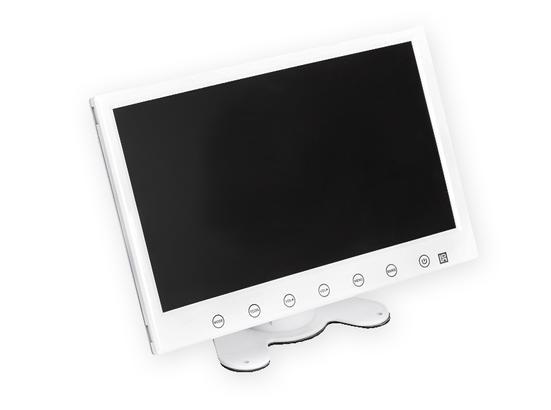 monitor bianco 7 pollici