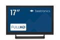 17 Zoll Monitor Metall - Vorderansicht