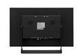 17 Zoll Monitor Metall - Rückseite mit VESA Bohrungen