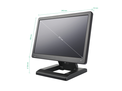 Monitor 10 pollici